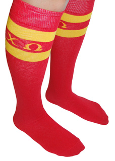 Chi Omega Knee Socks