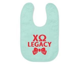 Chi Omega Legacy Bib