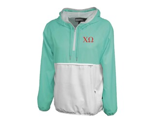 Chi Omega Letters Anorak
