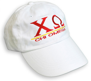 Chi Omega World Famous Line Hat