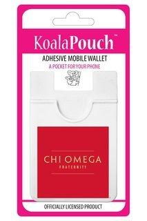Chi Omega Logo Koala Pouch