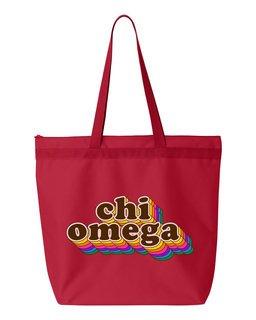 Chi Omega Maya Tote Bag