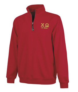 Chi Omega Custom Fashion Pullover