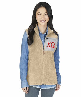 Chi Omega Newport Fleece Vest