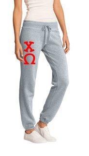 Chi Omega Junior Core Fleece Pant