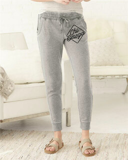 Chi Omega Enzyme-Washed Rally Joggers