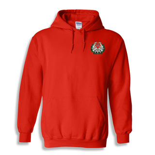 Chi Omega Crest Emblem Hooded Sweatshirt