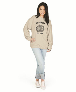 Chi Omega Camden Crewneck Sweatshirt