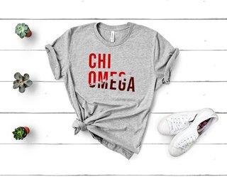 Chi Omega Ripped Favorite T-Shirt