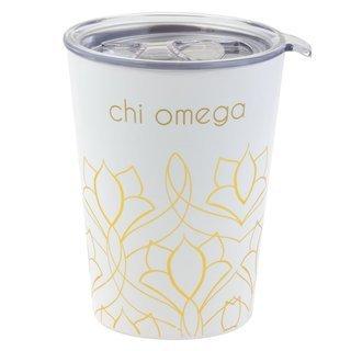 Chi Omega Short Coffee Tumblers