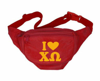 Chi Omega Sorority Fanny Pack