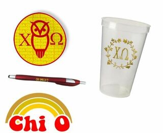 Chi Omega Sorority For Starters Collection $9.99