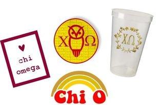 Chi Omega Sorority Large Pack $15.00