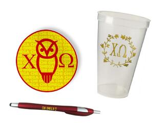 Chi Omega Sorority Medium Pack $7.50