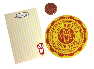 Chi Omega Sorority Musts Collection $9.95