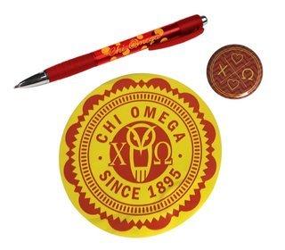 Chi Omega Sorority Pack $5.00