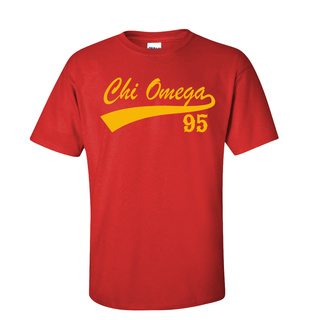 Chi Omega Tail T-Shirts