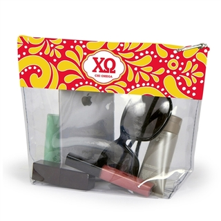 Chi Omega Travel Pouch