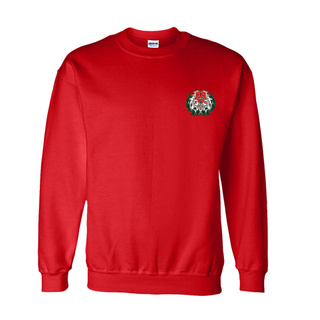 DISCOUNT-Chi Omega World Famous Crest - Shield Crewneck Sweatshirt