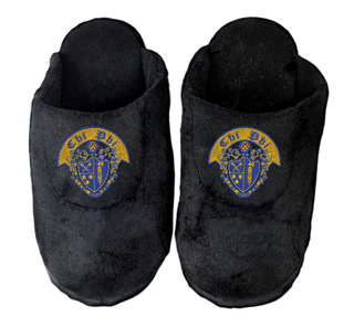 DISCOUNT-Chi Phi Black Solid Slipper