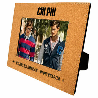 Chi Phi Cork Photo Frame