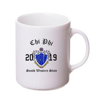 Chi Phi Crest & Year Ceramic Mug