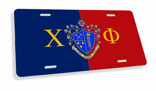 Chi Phi Flag License Cover