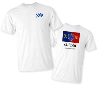 Chi Phi Flag T-Shirt