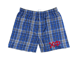 Chi Phi Flannel Boxer Shorts