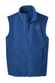 DISCOUNT-Chi Phi Fleece Crest - Shield Vest