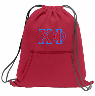 Chi Phi Fleece Sweatshirt Cinch Pack