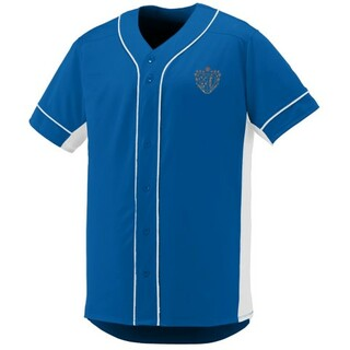 DISCOUNT-Chi Phi Fraternity Crest - Shield Slugger Baseball Jersey