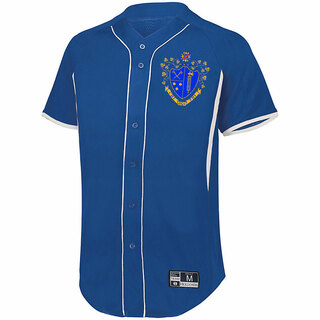 Chi Phi Game 7 Full-Button Baseball Jersey
