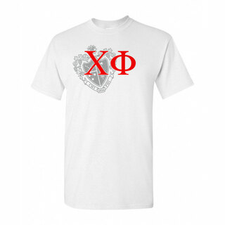Chi Phi Greek Crest - Shield T-Shirt