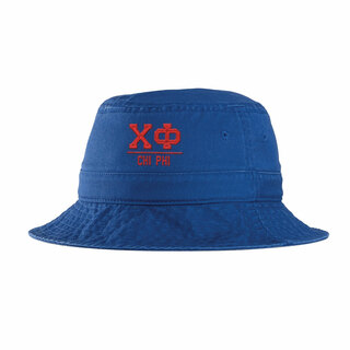 Chi Phi Greek Letter Bucket Hat