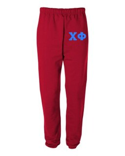 Chi Phi Greek Lettered Thigh Sweatpants