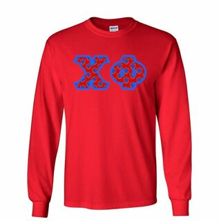 Chi Phi Lettered Long Sleeve Shirt