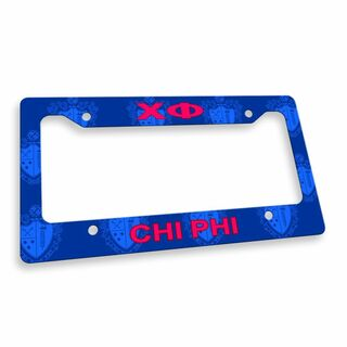 Chi Phi Custom License Plate Frame