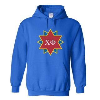 Chi Phi Logo Hooded Sweatshirt