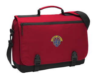 Chi Phi Messenger Briefcase