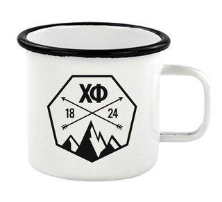 Chi Phi Metal Camping Mug