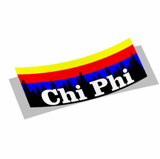 Chi Phi Mountain Decal Sticker
