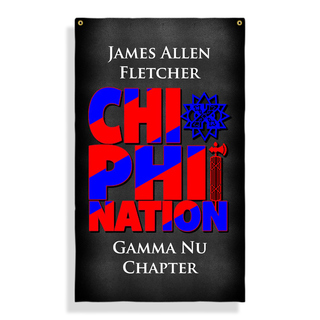 Chi Phi Nations Giant Flag