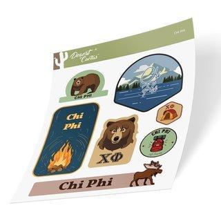 Chi Phi Outdoor Sticker Sheet