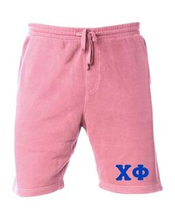 Chi Phi Pigment-Dyed Fleece Shorts
