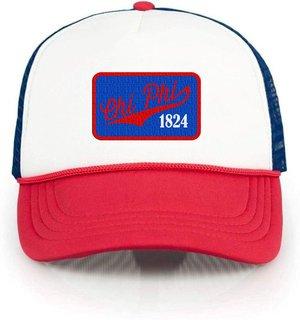 Chi Phi Red, White & Blue Trucker Hat