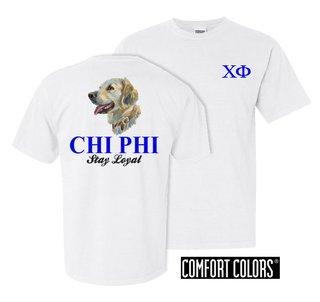 Chi Phi Stay Loyal Comfort Colors T-Shirt