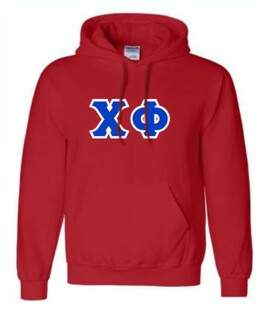 Chi Phi Sewn Sewn Lettered Sweatshirts