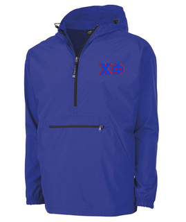 Chi Phi Tackle Twill Lettered Pack N Go Pullover