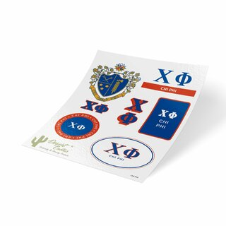 Chi Phi Traditional Sticker Sheet